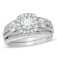 Radiant with 2 CTs. T.W of diamonds.