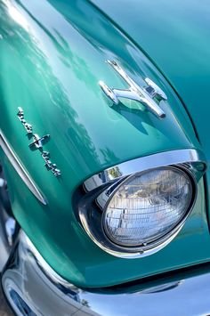 ♂ Masculine  elegance car details 1957 Oldsmobile 98 Starfire Convertible Fender Spear