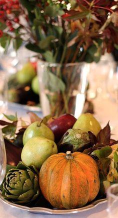fall table....
