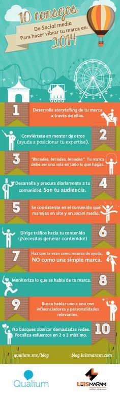 10 consejos de social media para hacer vibrar tu marca en 2014