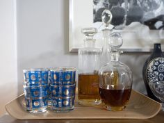 What No Home Bar Should Be Without: A Guide to Stocking Your Bar #bar #cocktails #hgtv