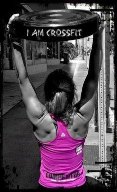 I am CrossFit #crossfit #wodlove