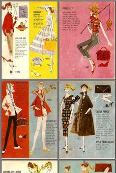 Vintage Barbie catalog