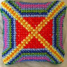 Waldorf Fourth Grade Cross Stitch