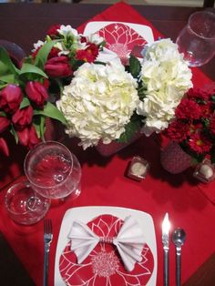 Valentines Tablescape holiday, valentine day, valentin parti, table for two, valentin tablescap