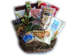 Heart Healthy Father's Day Snack Basket