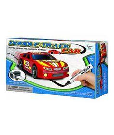 Doodle Track Race Car