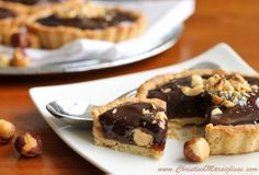 Milk Jam Chocolate Hazelnuts Tarts!