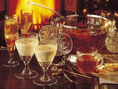 Punch Recipes: For the uninterrupted party!  vintage-punch-bowl vignette