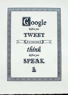 Social Media Advice.