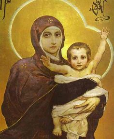 Viktor Vasnetsov (1848-1926): Madre de Dios.