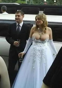 Can you imagine the look on Granny's face? I'm betting she walked down the aisle to Watermelon Crawl...