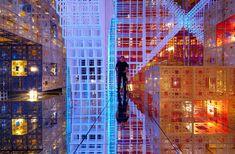 serge salat: beyond infinity immersive installation