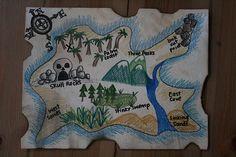 DIY treasure map