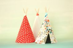 diy mini teepees
