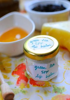 DIY: Green Tea SPF Lip Balm - Henry Happened