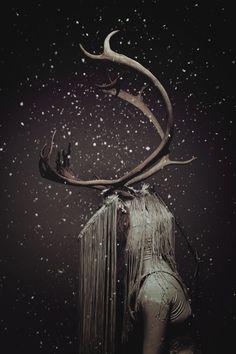 The Creature by Julie Marie Gene Gobelin, via Behance
