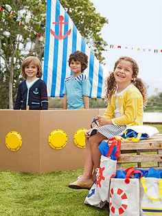 Easy-to-Make Nautical Birthday Party Ideas
