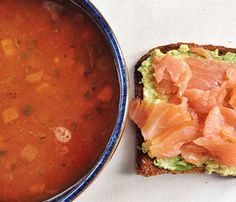 Tomorrow's Breakfast: We'll take your lox and cream cheese bagel and raise you a lox and avocado toast slice. Boom.