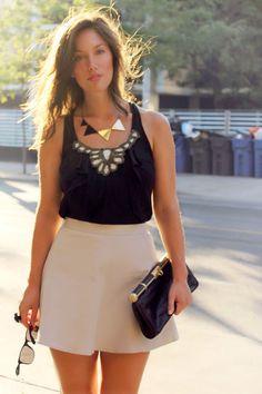 Fabulous @ClubMonaco skirt on @ToVogueOrBust! #YouBoughtIt