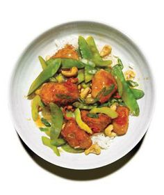 Sweet and Sour Chicken With Cashews recipe