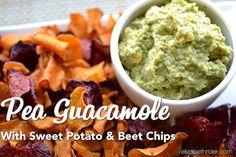 Pea Guacamole Recipe