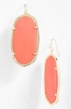Kendra Scott 'Danielle' Oval Statement Earrings   Nordstrom