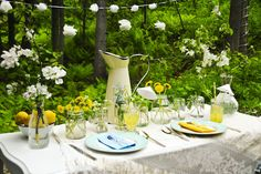Gorgeous outdoor party - FOLK style!