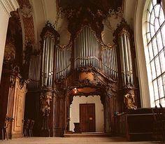 Organ of Ottobeuren Abbey, Germany