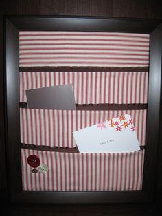 Cute Memo Board  **Pocketed memo board