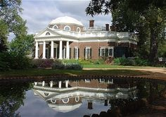 Monticello and the University of Virginia in Charlottesville, United States of America.
