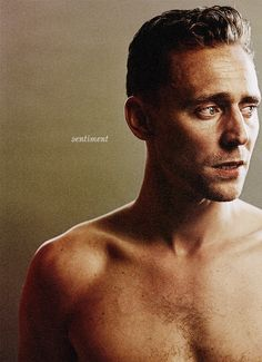 Tom. Hiddleston.  Oh my...