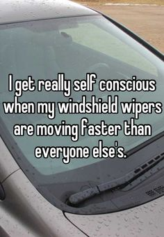 Windshield wipers are my pet peeve