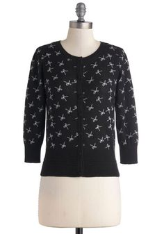 Swapped. Modcloth Bows Upon Bows Cardigan, XL. New with tags. Limited. I might keep it because it's really cute, but I don't usually button cardigans and it doesn't look nearly as cute unbuttoned. $41 + shipping