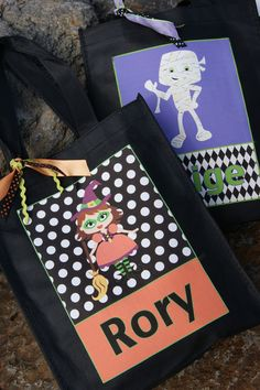 The Life of a Craft Crazed Mom: Trick or Treat Bags