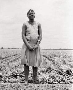 "Close to Home:  July 1936. ""Negro woman who has never been out of Mississippi."" by Dorothea Lange"