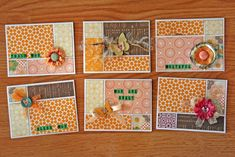 Cards 12x12 patterned paper scrapbook cards, quick card, card tutorials