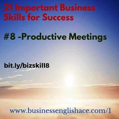 #Business Skill 8 –
