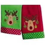 Merry Moose towels