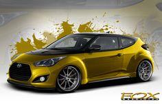 2013 Hyundai Veloster Turbo Fox Marketing