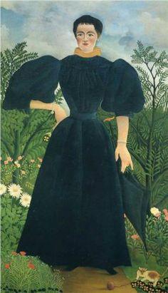 Portrait of a Woman - Henri Rousseau