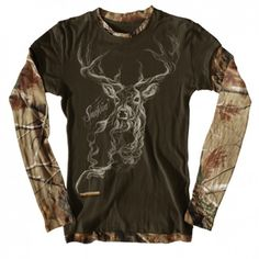 Smokin Deer Ladies shirt at buckwear
