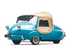 recently discovered: microcars.  1956 Paul Vallée