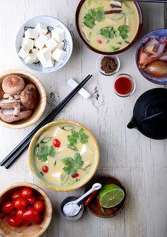 Olives for Dinner | Fragrant Coconut Soup  #vegan