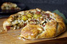 tomato, corn and zucchini galette by smitten, via Flickr