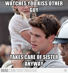 the game, the hunger, hunger game, a real man, liam hemsworth, book, friend zone, real friends, gale hawthorne funny