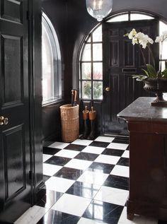 the doors, black doors, floor, dream, black white