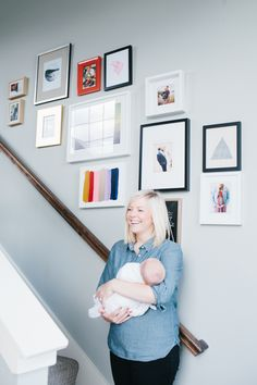 Gallery wall to put all those precious moments on display // Samantha Kelly Photography