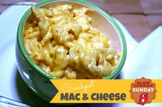 This hearty crockpot mac and cheese recipe is perfect for a side dish or after a hard days work. Super easy and done in 1 1/2 - 2 hours.