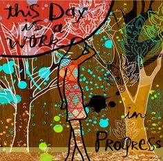 progress, decals, canvas wall art, art collect, linda ketelhut, canva wall, posters, wheatpast art, canvases